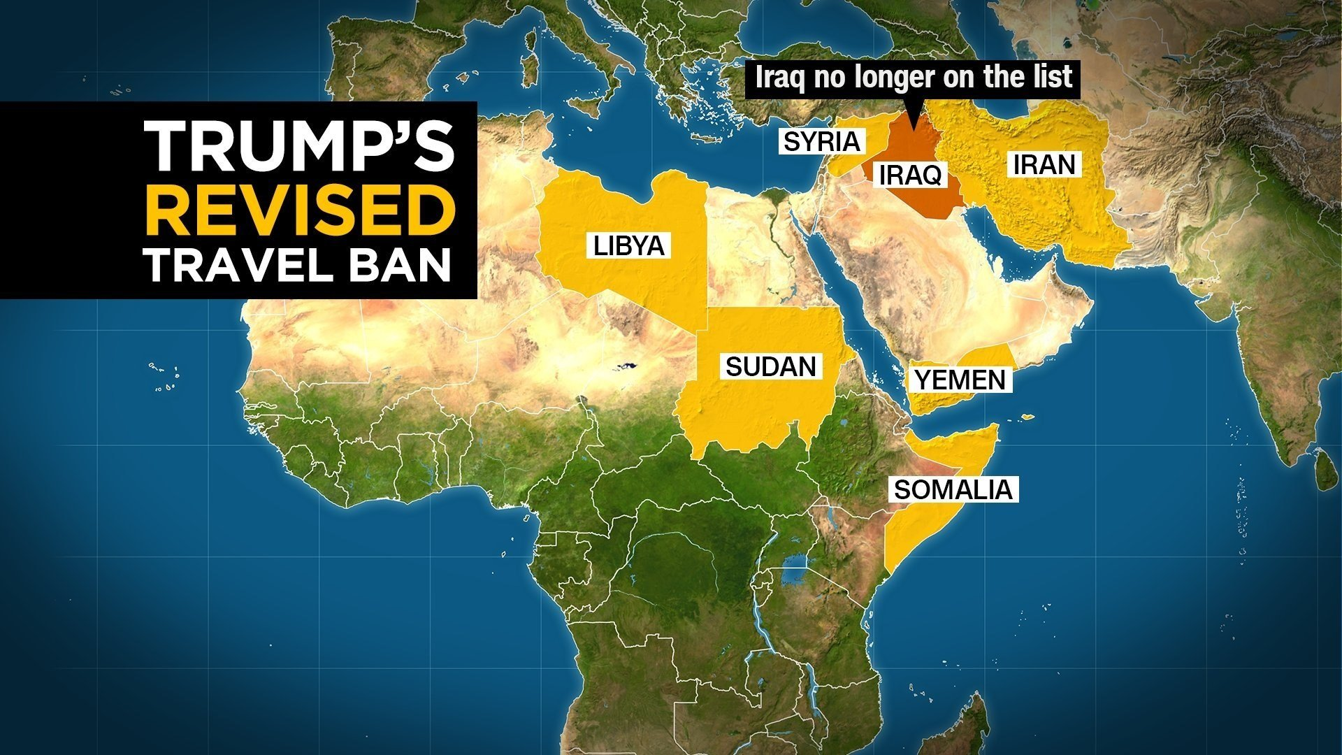 Trump Travel Ban Is Discouraging US Visitors Azfamilycom TV - Us travel map weather