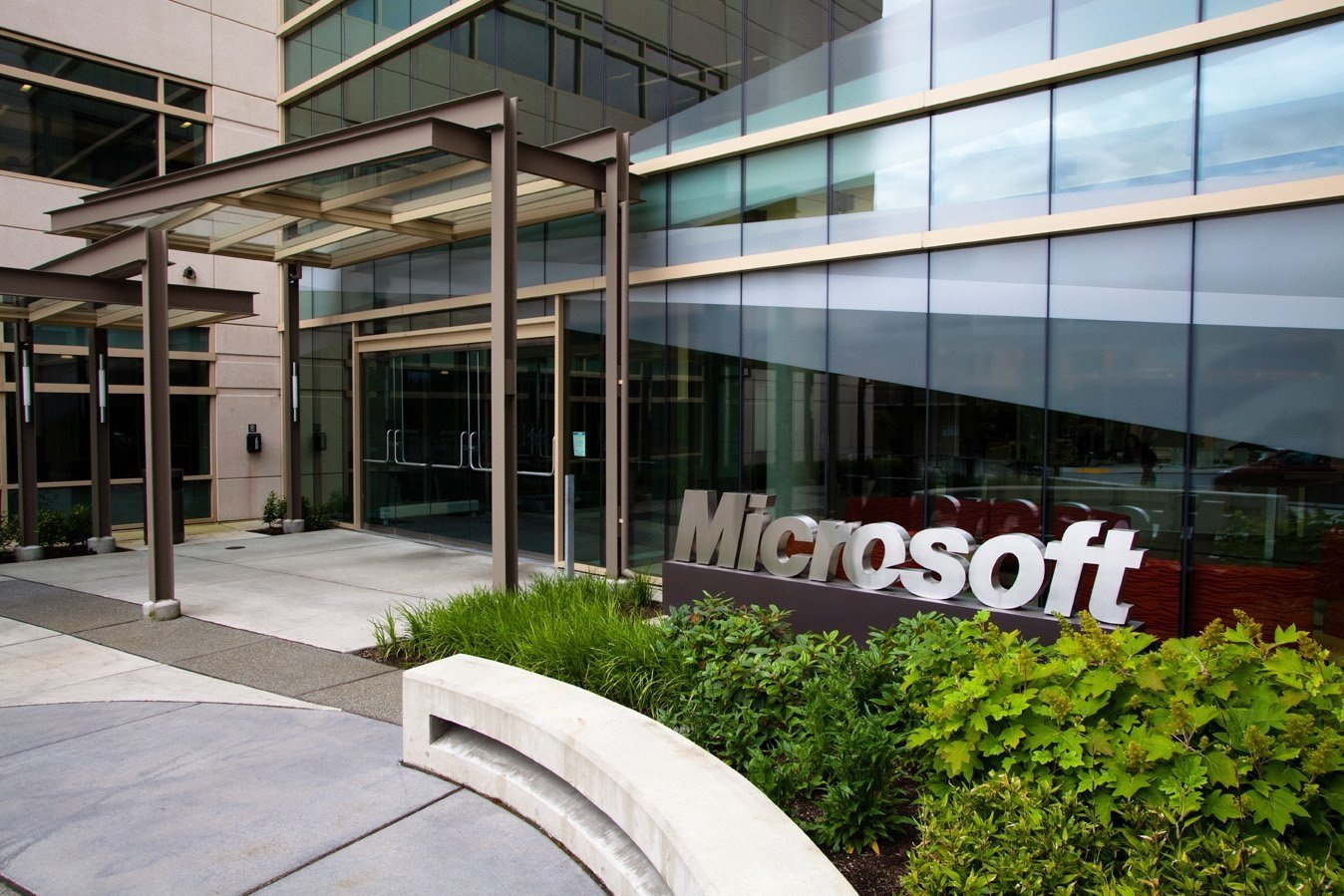 microsoft office in redmond. An Image Of The Microsoft Campus In Redmond, Washington. Office Redmond I