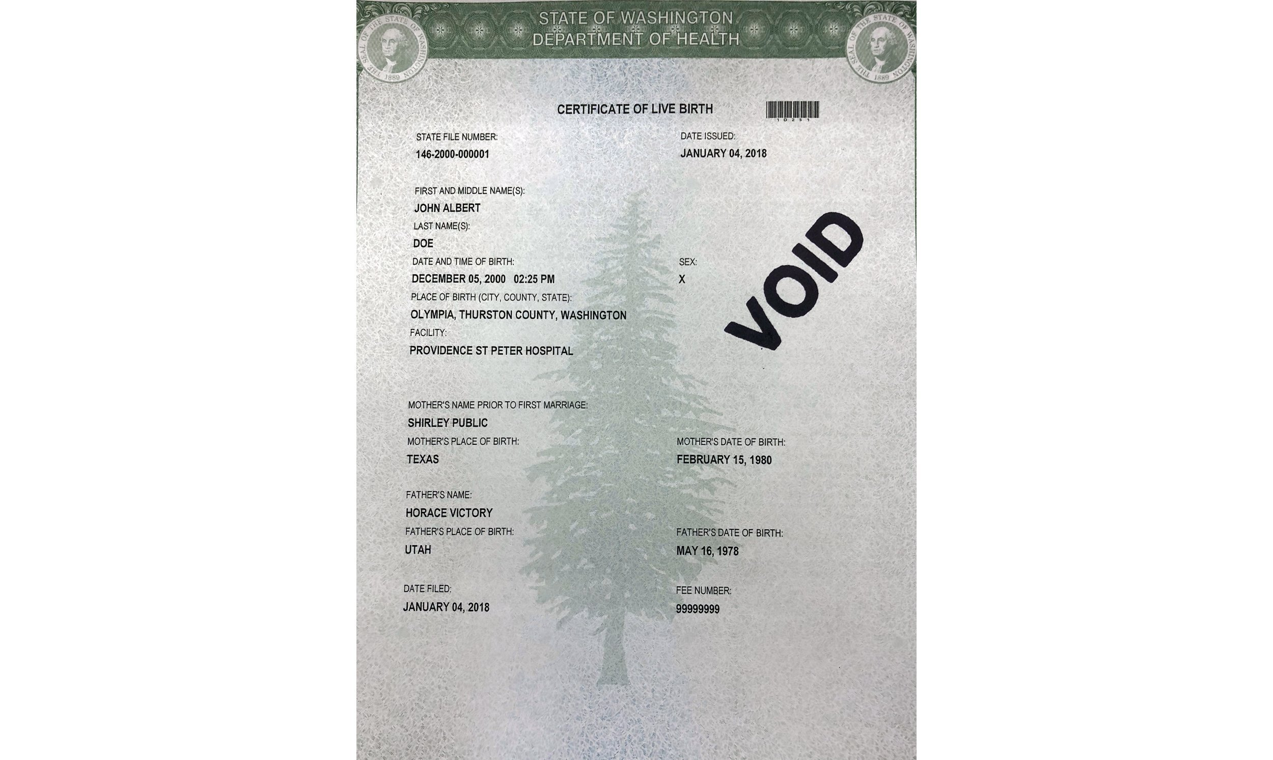 Washington state offers third gender option on birth certificate washington state offers third gender option on birth certificate erie news now wicu wsee in erie pa xflitez Choice Image