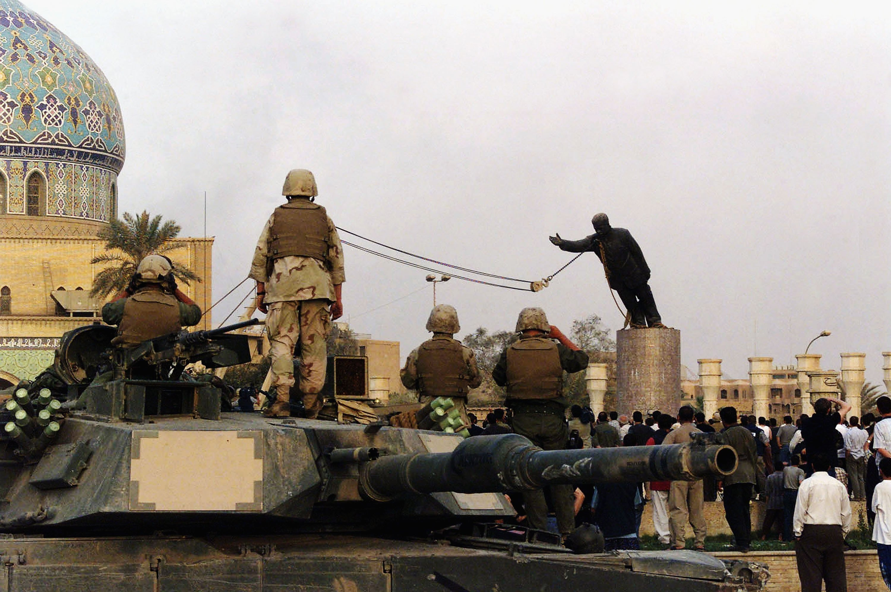 WENY News - 15 Years later, Americans remain split over Iraq War