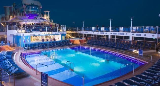 Quantum of the Seas is a huge ship, which usually cruises out of China,