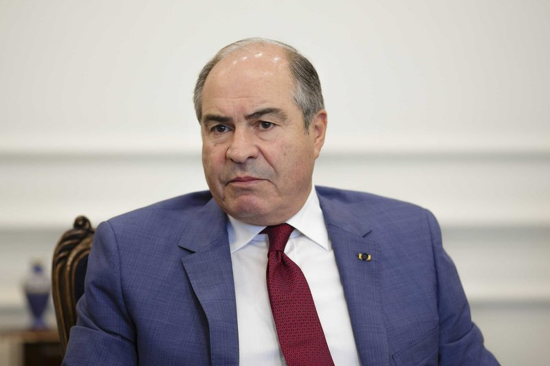 Jordanian Prime Minister Hani Al-Mulki resigned after a meeting with the king on Monday.