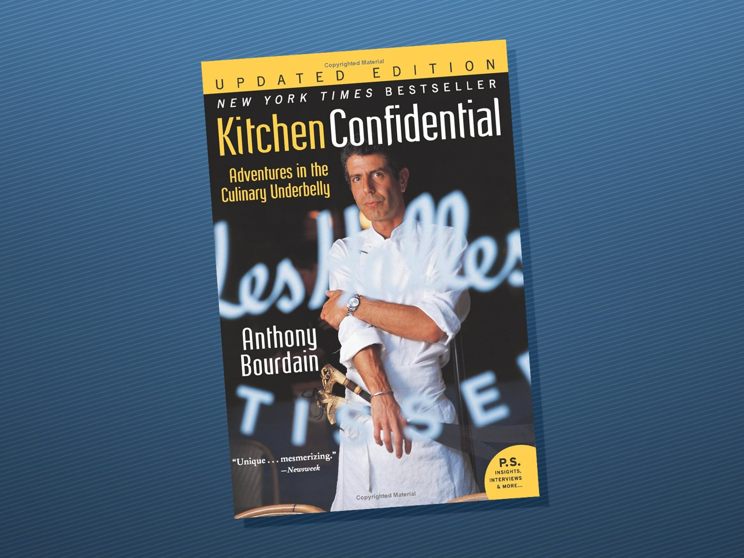 Anthony Bourdain\'s \'Kitchen Confidential\' becomes Amazon top sel ...