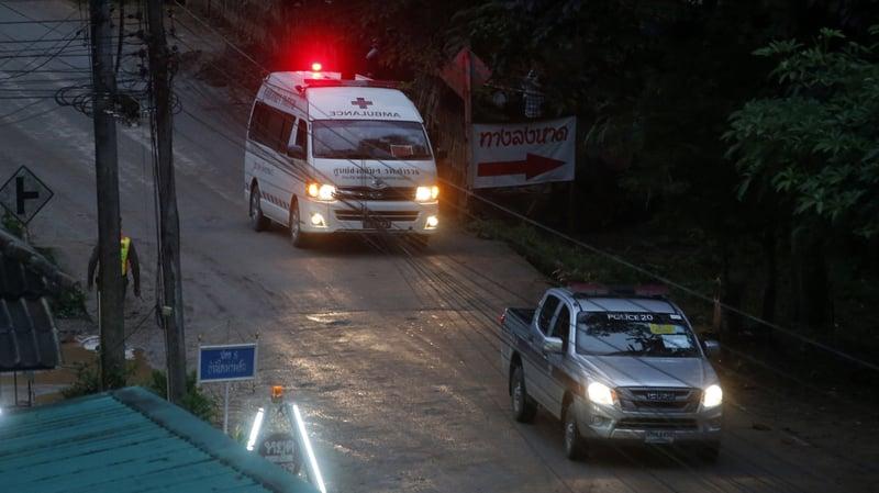 thai cave rescue operation - photo #17