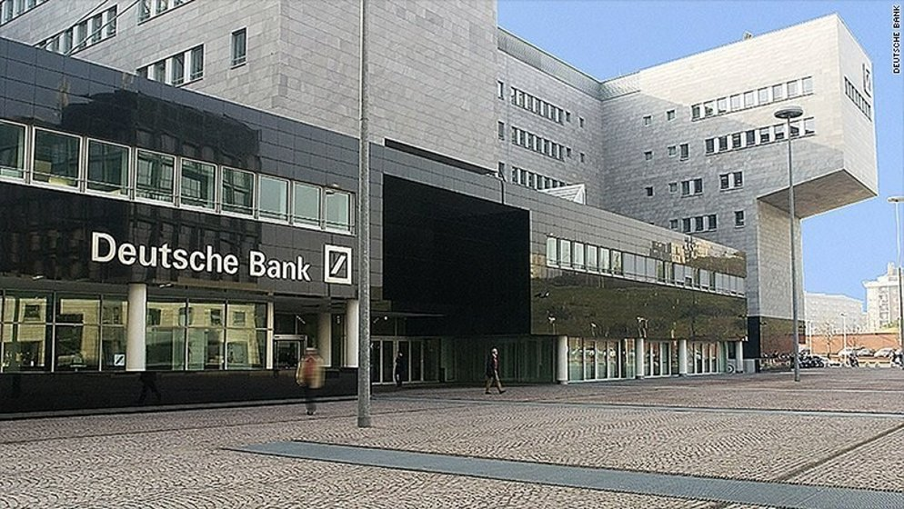 Deutsche Bank has 98,000 staff around the world, including 7,000 in the United Kingdom and 30,000 in Germany. (File Photo)