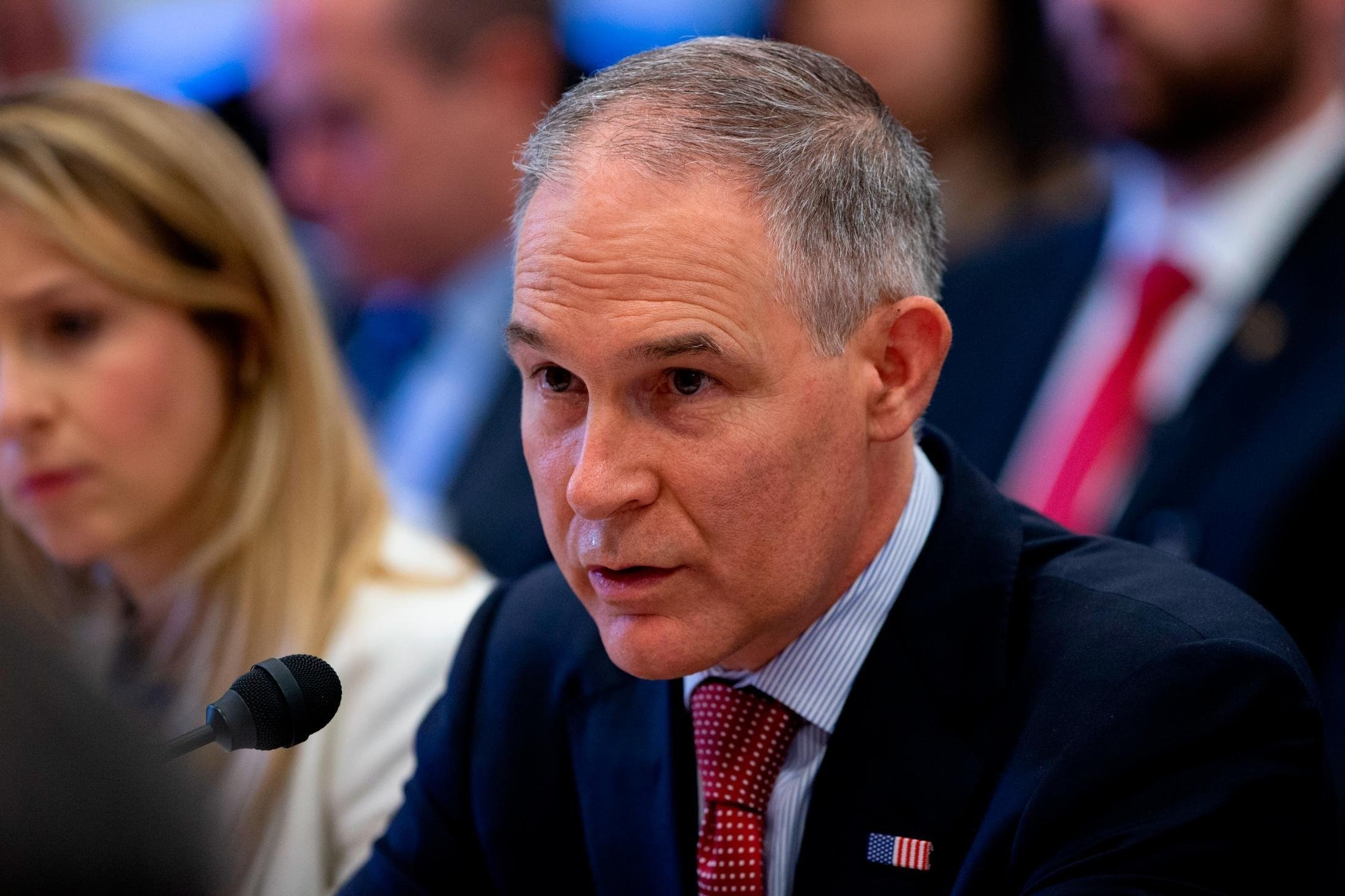 Scott Pruitt, the embattled administrator of the Environmental Protection Agency, is expected to face questions about his spending and alleged ethical transgressions at a Capitol Hill hearing Wednesday on the agency's budget.