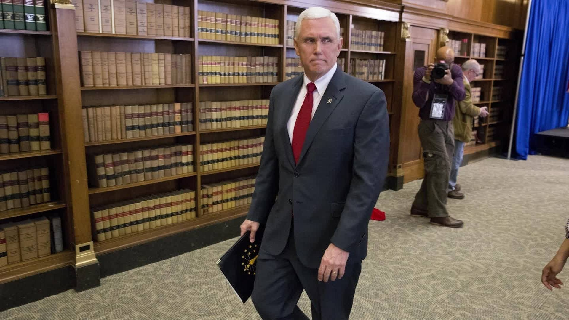 At first glance, a Southern Baptist meeting might seem like a friendly audience for Vice President Mike Pence.