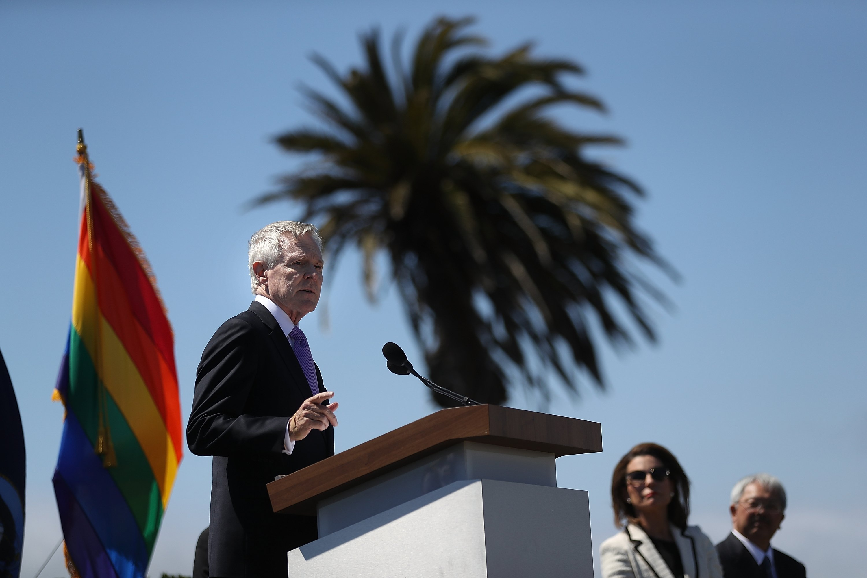 Former Secretary of the Navy Ray Mabus decried President Donald Trump's efforts to prevent transgender individuals from serving in the military.