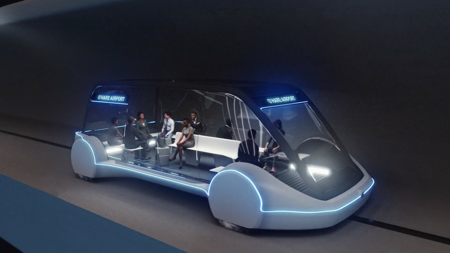 Chicago has picked Elon Musk's Boring Company to build a futuristic transportation link to the city's airport.