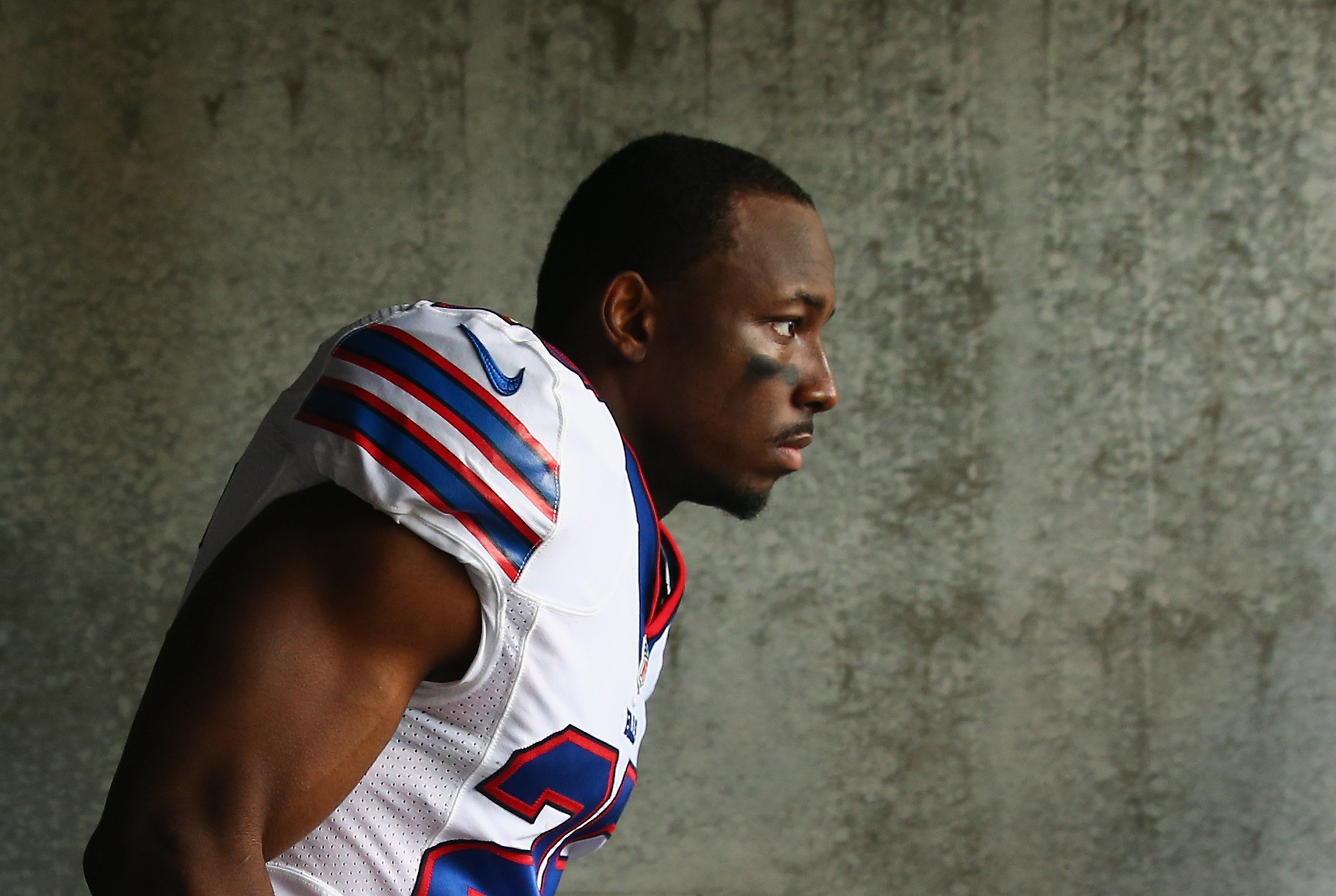 Police in this Atlanta suburb are investigating a home invasion at a house belonging to NFL superstar and Buffalo Bills running back LeSean McCoy in which his former girlfriend was violently assaulted and hospitalized and another woman was injured.