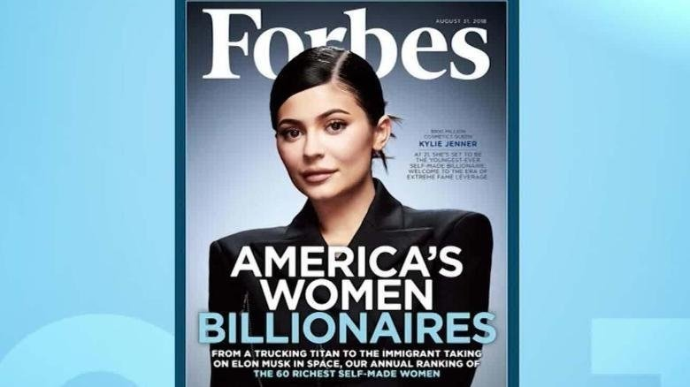 "After Forbes magazine touted ""America's Women Billionaires"" with Kylie Jenner on its cover, the backlash was immediate over the reference to the reality TV star as ""self-made."""
