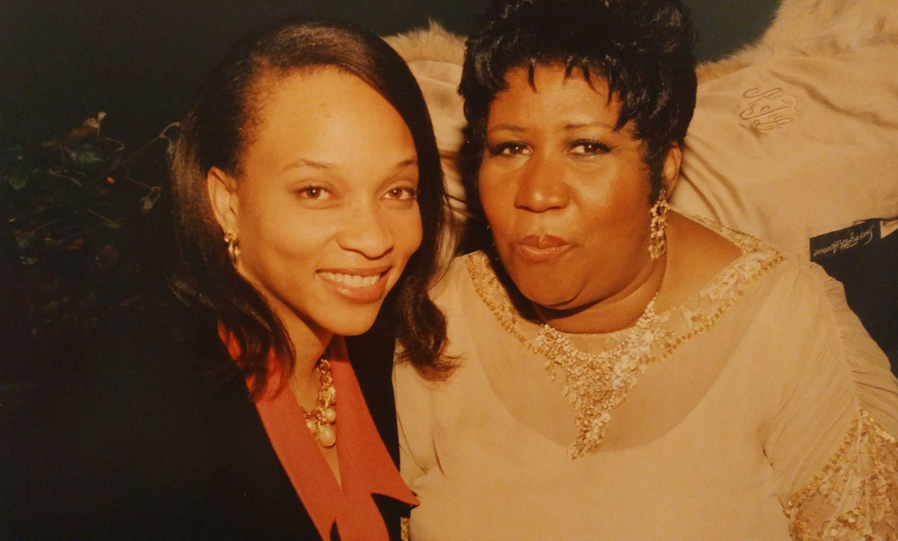 LaJoyce Brookshire has one word for what it was like to work for Aretha Franklin. Excellence.