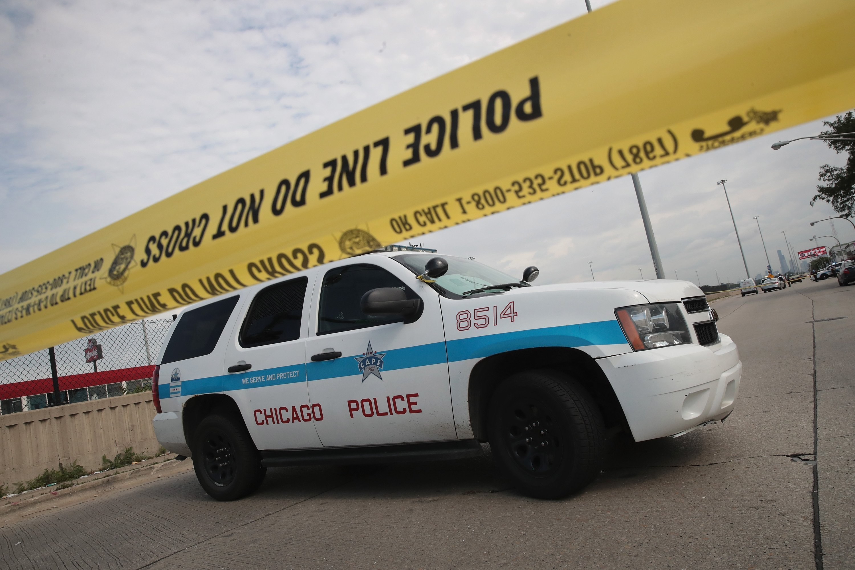 This weekend in Chicago at least 58 people were shot between Friday afternoon and late Sunday night, according to the Chicago Police Major Incident Notification System. (FILE)