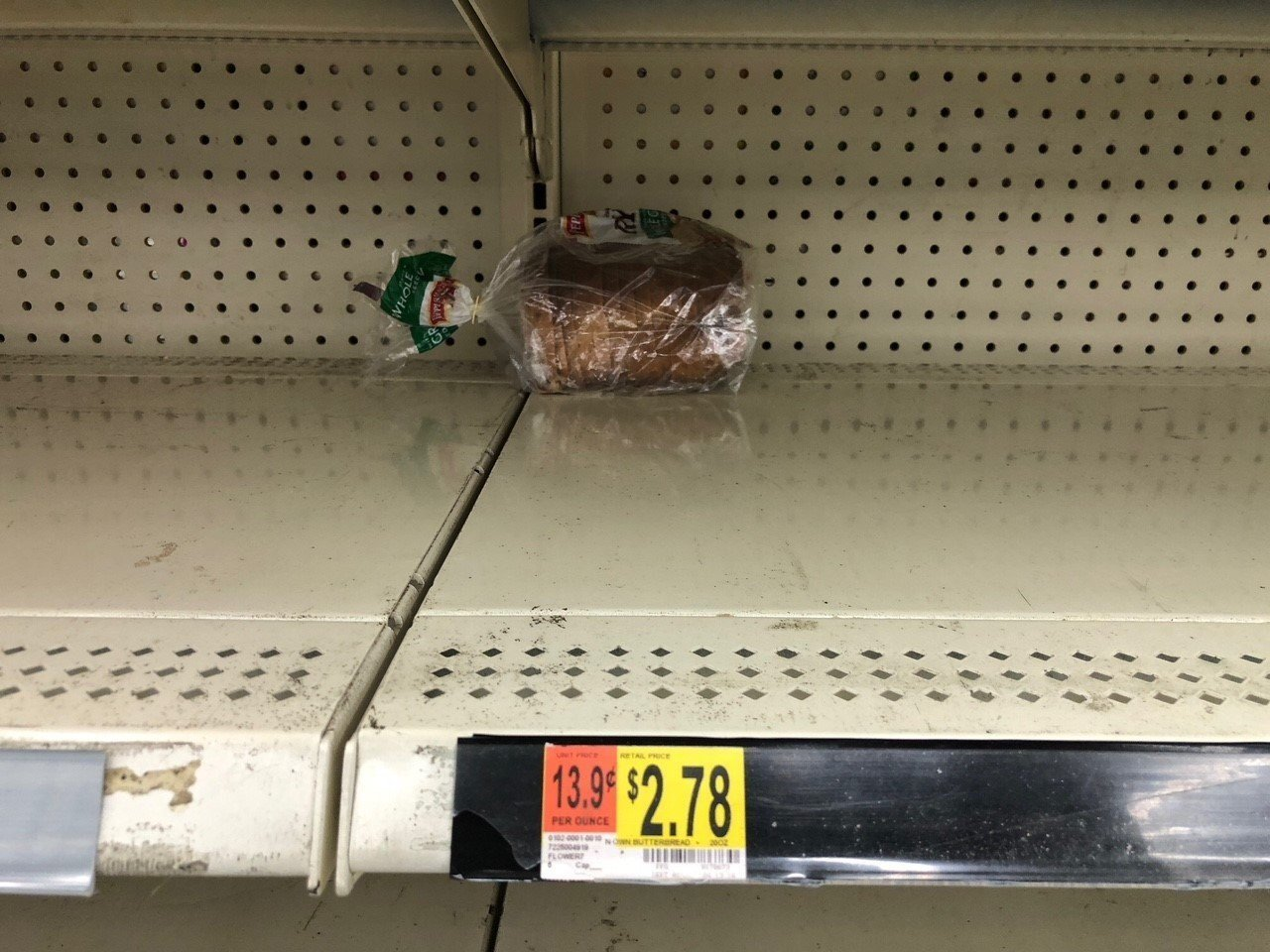 North Carolina Beach/Wilmington Walmart has empty shelves as residents prepare for Hurricane Florence.
