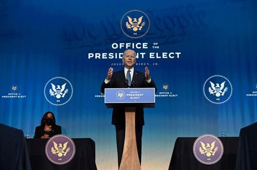 www.weny.com: Biden touts gender parity and diversity of his Cabinet