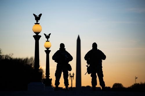 Thousands of National Guard troops could remain in Washington until March