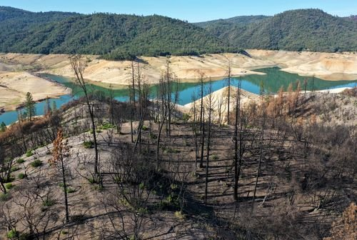 A California reservoir is expected to fall so low that a hydro-power plant will shut down for first time - WRCB-TV
